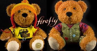 Ursos de Pelúcia da Série Firefly: Kaylee e Jayne
