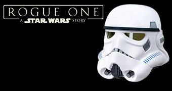 Capacete Stormtrooper Voice Changer de Rogue One: Uma História Star Wars