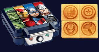 Máquina de Waffles Marvel Vingadores (Avengers)
