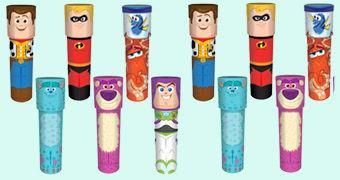 Caleidoscópios Disney Pixar