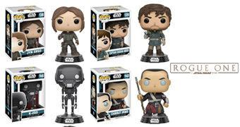 Bonecos Pop! Rogue One: Uma História Star Wars