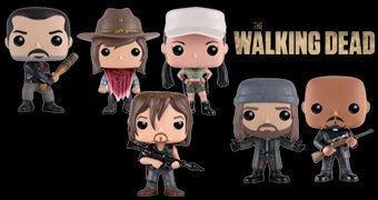 The Walking Dead Pop! Série 6: Negan, Rosita, Jesus, Gabriel, Carl e Daryl