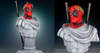 Busto Deadpool Caesar