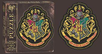 Quebra-Cabeça Harry Potter 750 Peças: Brasão da Escola de Magia e Bruxaria de Hogwarts