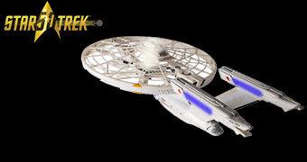 Drone Star Trek USS Enterprise Quadricóptero (Star Trek 50 Anos)
