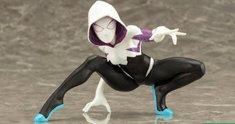 Estátua Spider-Gwen ArtFX+ (Kotobukiya)