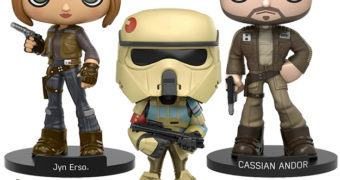 Bonecos Funko Wobbler: Star Wars Rogue One
