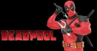 Cofre Deadpool Bust Bank Ver. 02