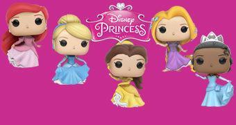 Princesas Disney Pop! – Bonecas de Vinil Funko