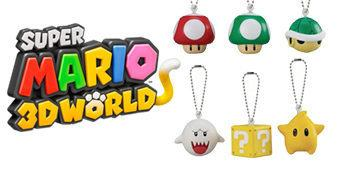 Chaveiros Super Mario 3D World