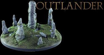 Outlander Bookends – Apoios de Livros da Série de Televisão