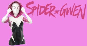 Cofre Spider-Gwen com Máscara – Estilo Busto
