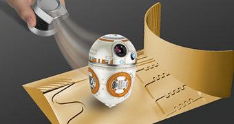 Pião Magnético BB-8 Star Wars The Force Awakens