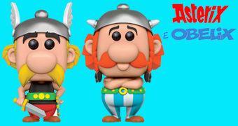 Bonecos Pop! Astérix e Obelix
