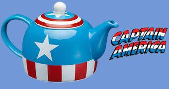 Bule de Chá Avengers: Captain America Teapot