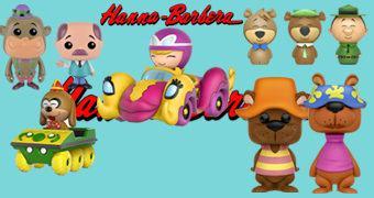 Hanna-Barbera Pop! e Dorbz: Gorila Maguila, Banana Splits, Penélope Charmosa, Zé Colmeia e Urso do Cabelo Duro (NYCC 2016)