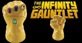 Pote de Cookies Manopla do Infinito (Marvel)