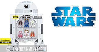Set Star Wars Astromech Droids com 6 Robôs em Caixa R2-D2