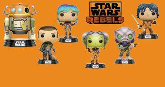 Bonecos Pop! Star Wars Rebels