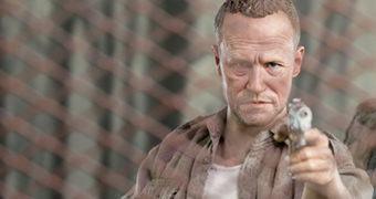 Merle Dixon The Walking Dead – Action Figure Perfeita 1:6 Threezero Toys