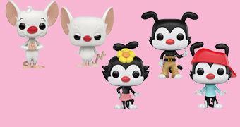 Bonecos Pop! Pinky e o Cérebro e Animaniacs