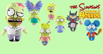 Bonecos de Pelúcia Zumbis: Simpsons Treehouse of Horror