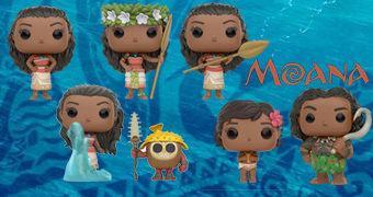 Bonecos Pop! Moana: Um Mar de Aventuras (Disney)