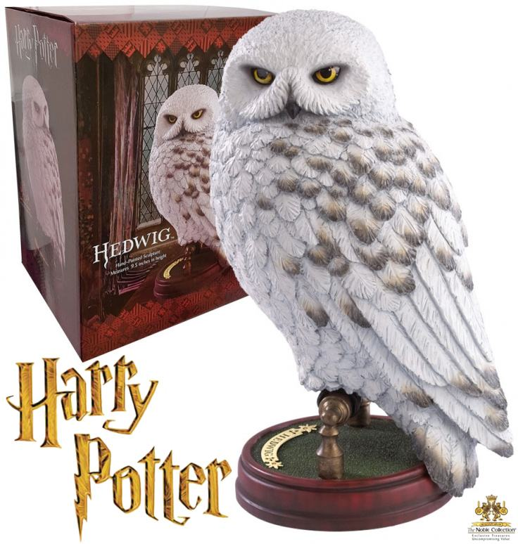 estatua-harry-potter-magical-creatures-statue-hedwig-01
