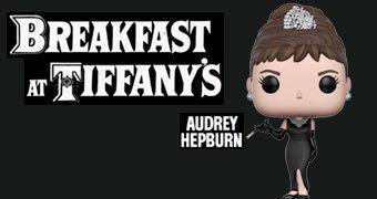 Audrey Hepburn Pop! em Breakfast at Tiffany's (Bonequinha de Luxo)