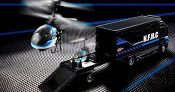 Caminhão e Helicóptero com Controle Remoto