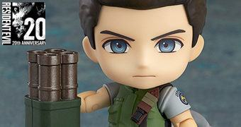 Boneco Nendoroid Chris Redfield – Resident Evil 20 Anos
