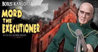 Boris Karloff como Carrasco Mord – Action Figure Perfeita 1:6 do Filme Tower of London 1939 (Universal Studio)
