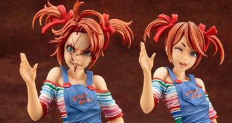 Estátua Chucky (Brinquedo Assassino) Estilo Bishoujo – Ilustração de Shunya Yamashita