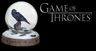 Globo de Neve Corvo de Três Olhos Game of Thrones – Three-Eyed Raven Snow Globe