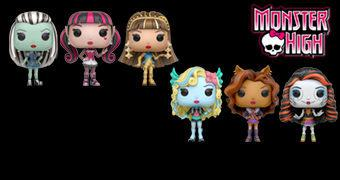 Bonecas Monster High Pop!