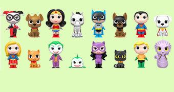 Mystery Minis DC Super Pets – Mini-Figuras Blind-Box Super Bichos de Estimação