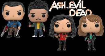Ash vs Evil Dead Pop! – Bonecos Funko da Série de Sam Raimi