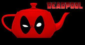 Bule de Chá Deadpool Teapot