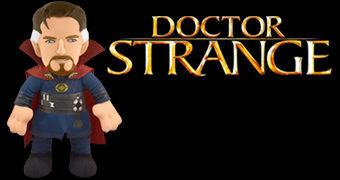 Boneco de Pelúcia Doctor Strange (Bleacher Creatures Marvel)