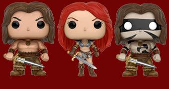 Conan, o Bárbaro Pop! e Red Sonja Pop!