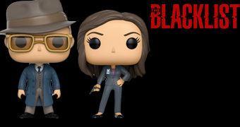 Bonecos Pop! da Série The Blacklist: Raymond Reddington e Elizabeth Keen