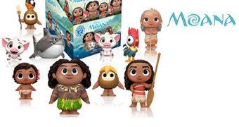 Mystery Minis Moana: Um Mar de Aventuras – Mini-Figuras Blind-Box Disney