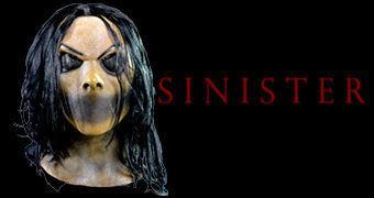 Máscara Bughuul/Mr. Boogie do Filme Sinister (A Entidade)