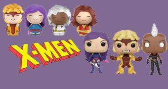 Bonecos Pop! e Dorbz X-Men Clássico