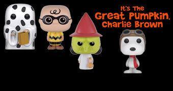 Bonecos Pop! Charlie Brown e a Grande Abóbora (It's the Great Pumpkin, Charlie Brown)