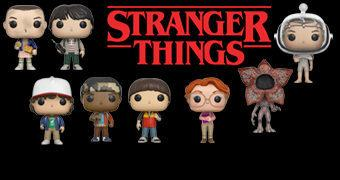 Stranger Things Pop! – Bonecos de Vinil da Série do Netflix