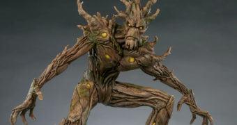 Groot Premium Format – Estátua Sideshow Collectibles Marvel