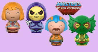 Bonecos Dorbz He-Man e os Mestres do Universo