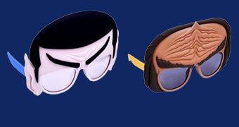 Óculos Star Trek Sun-Staches: Sr. Spock e Klingon