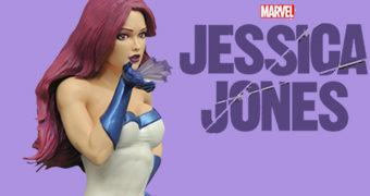 Estátua Jessica Jones como Safira (Jewel)